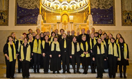 Chor Otto-Wagner-Kirche